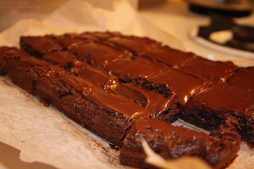 Brownie, Cake, Chocolate