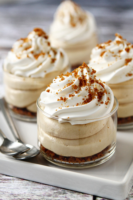 Biscoff No Bake Cheesecake