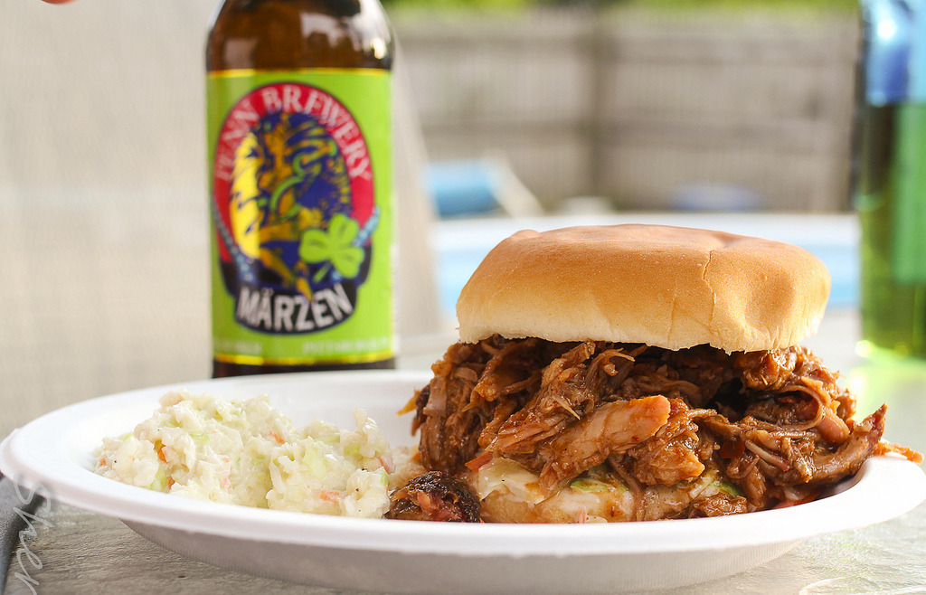 Pulled Pork with Side of Slaw