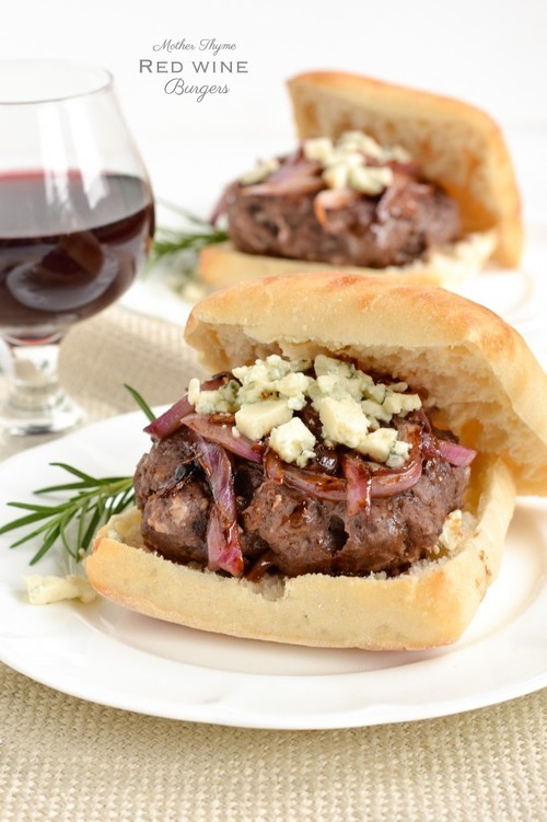 Red Wine Burgers