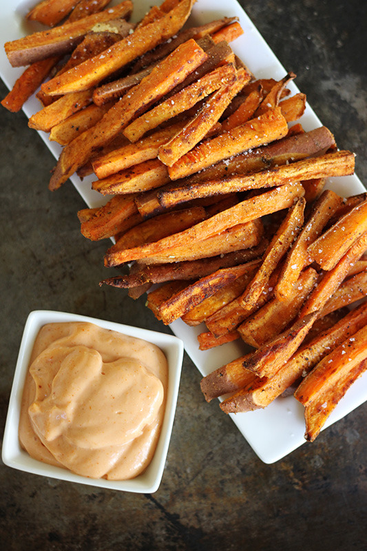 Recipe: Oven Baked Sweet Potato Fries