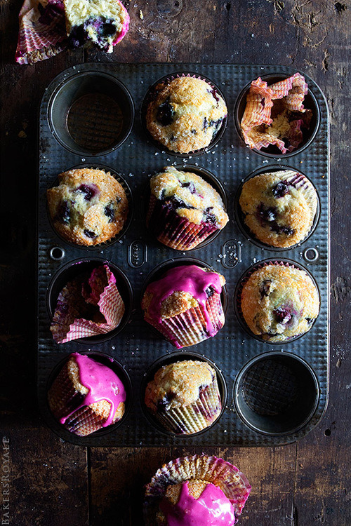 Easy Blueberry Muffin Recipe Bakers Royale on We Heart It.