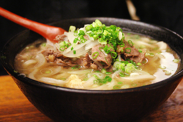 beef udon by roboppy on Flickr.