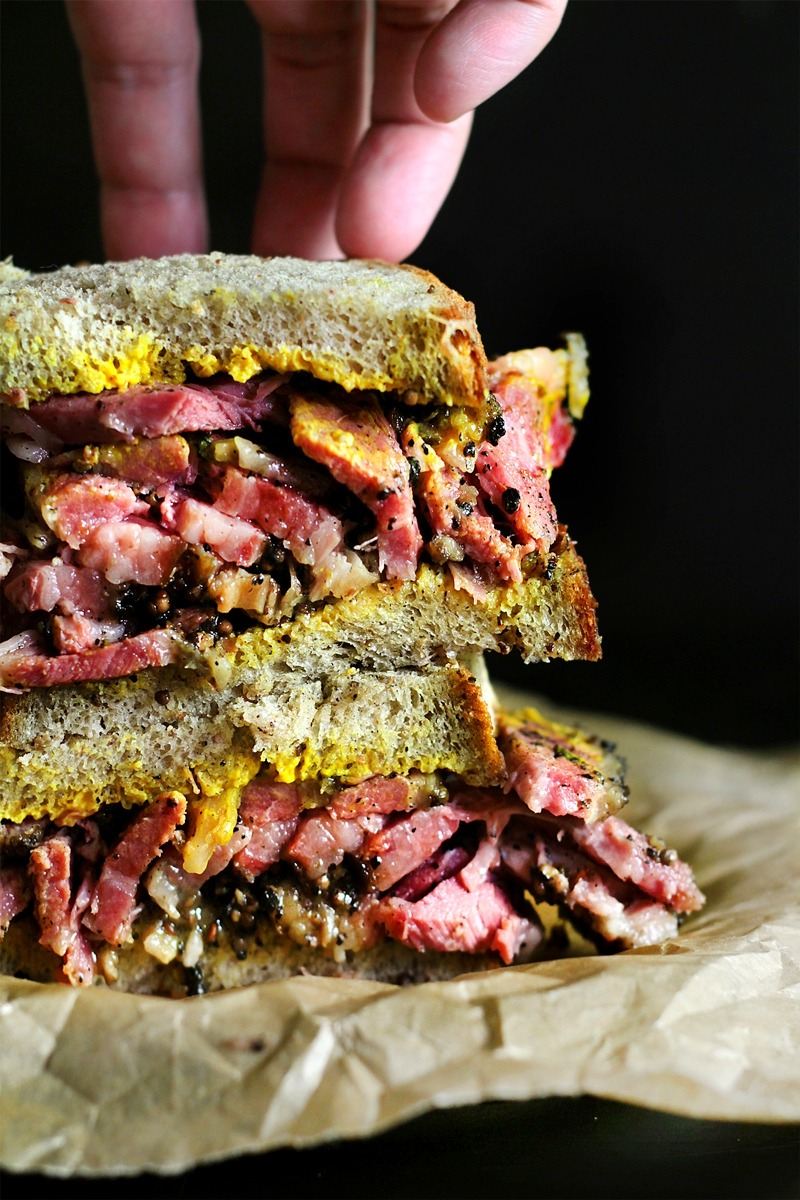 Faux smoked meat