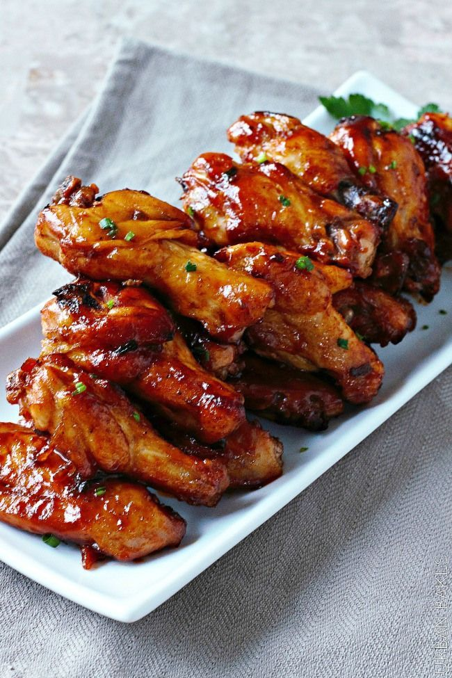 Spicy Maple Chicken Wings Urban Bakes