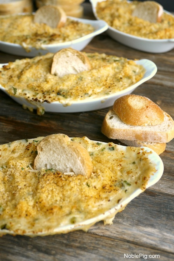 Louisiana Blue Crab Gratin